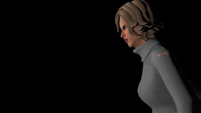Casual Woman Pose 3 CGI Render 12