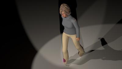 Casual Woman Pose 3 CGI Render 19