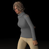 Casual Woman Pose 3 CGI Render 7