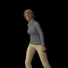 Casual Woman Pose 3 CGI Render 13
