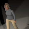 Casual Woman Pose 3 CGI Render 15