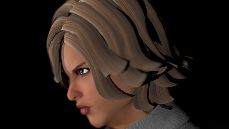Casual Woman Pose 3 CGI Render 1