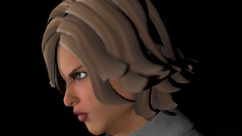 Casual Woman Pose 3 CGI Render 2