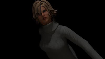 Casual Woman Pose 2 CGI Render 6