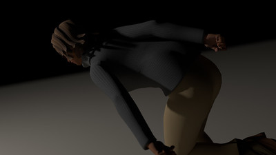 Casual Woman Pose 2 CGI Render 23