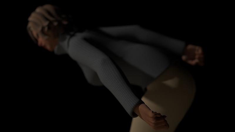 Casual Woman Pose 2 CGI Render 13