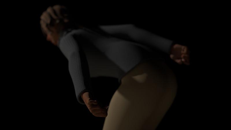Casual Woman Pose 2 CGI Render 14