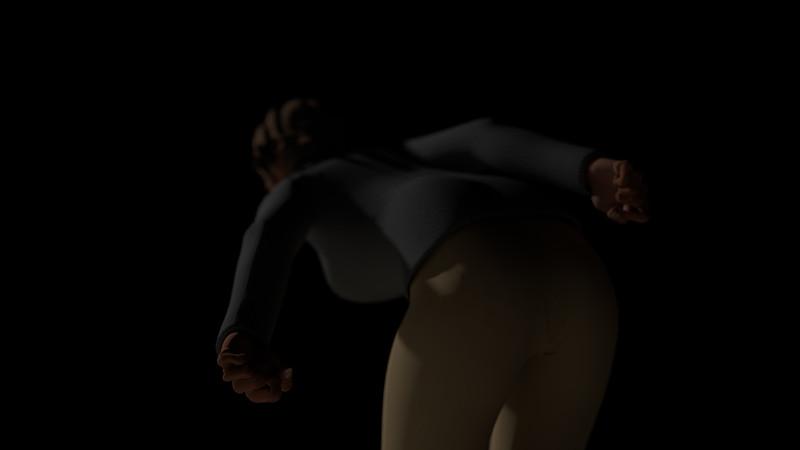 Casual Woman Pose 2 CGI Render 15