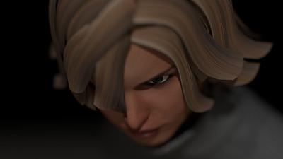 Casual Woman Pose 2 CGI Render 4