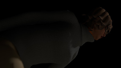 Casual Woman Pose 2 CGI Render 19