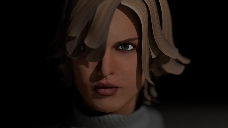 Casual Woman Pose 1 CGI Render 6