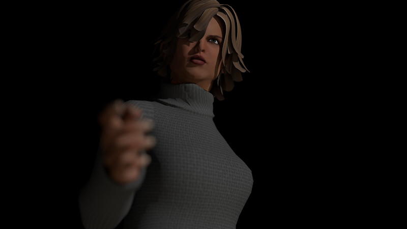 Casual Woman Pose 1 CGI Render 11