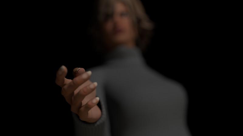 Casual Woman Pose 1 CGI Render 15