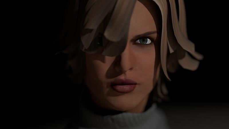 Casual Woman Pose 1 CGI Render 4