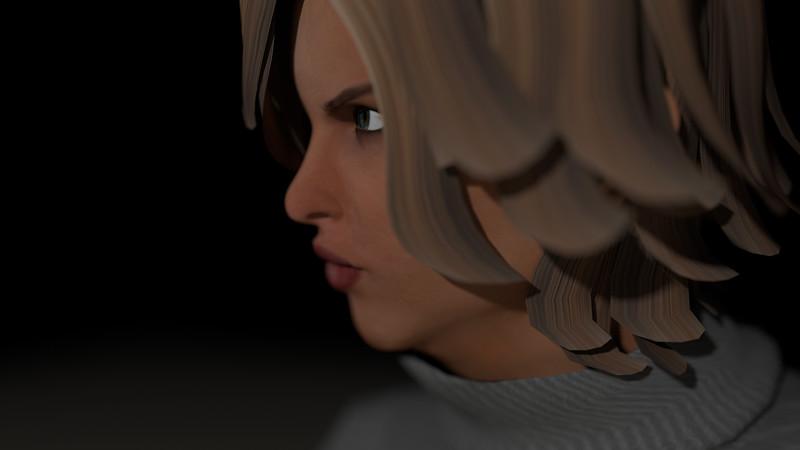 Casual Woman Pose 1 CGI Render 2