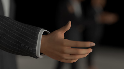 Business Man Scene Multiple Rigging (Corrected Textures) CGI Render 12