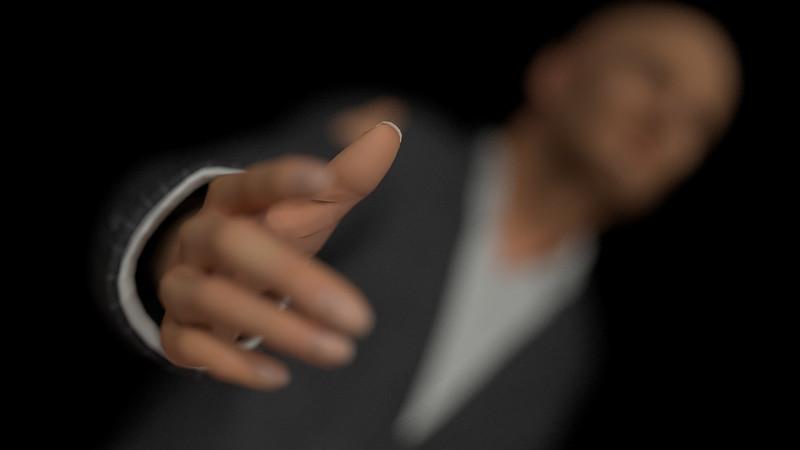 Business Man Scene Multiple Rigging (Corrected Textures) CGI Render 11