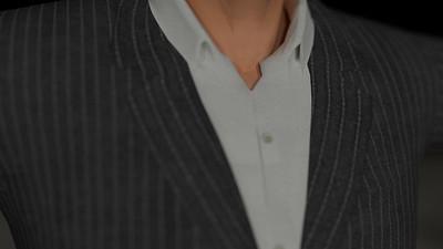 Business Man Scene Multiple Rigging (Corrected Textures) CGI Render 9