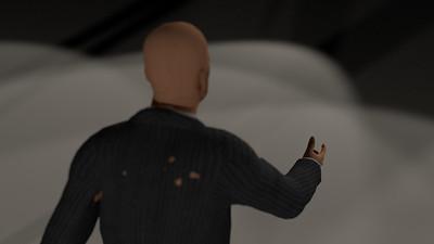 Business Man Scene Multiple Rigging (Corrected Textures) CGI Render 13