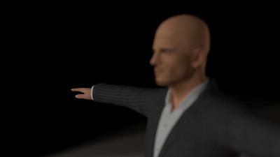 Business Man Scene Multiple Rigging (Corrected Textures) CGI Render 6