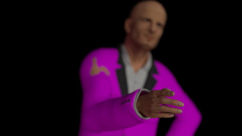 Business Man Scene Multiple Rigging (Missing Textures) CGI Render 21
