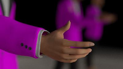 Business Man Scene Multiple Rigging (Missing Textures) CGI Render 12