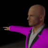 Business Man Scene Multiple Rigging (Missing Textures) CGI Render 6