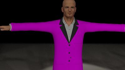 Business Man Scene Multiple Rigging (Missing Textures) CGI Render 10