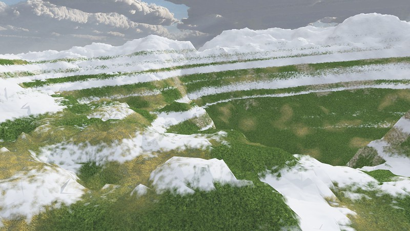 Ice Mountain 16 : A Computer Generated Image from Daily Animation