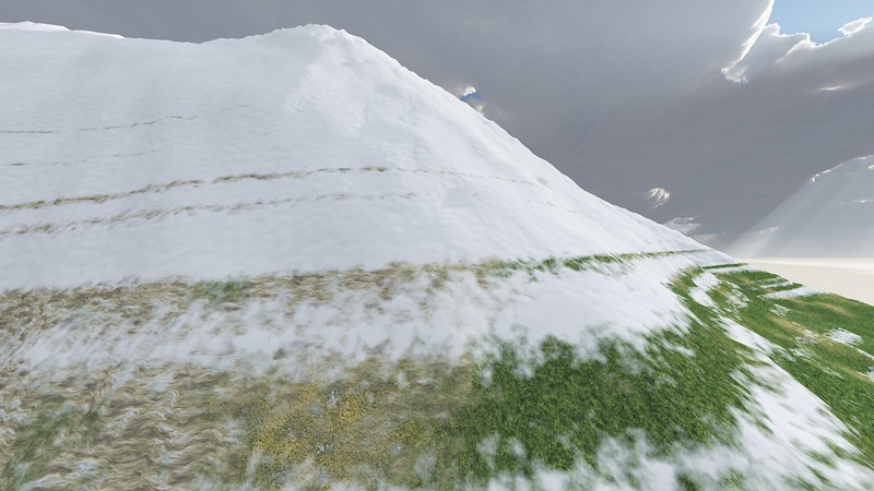 Ice Mountain 22 : A Computer Generated Image from Daily Animation