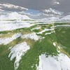 Ice Mountain 14 : A Computer Generated Image from Daily Animation