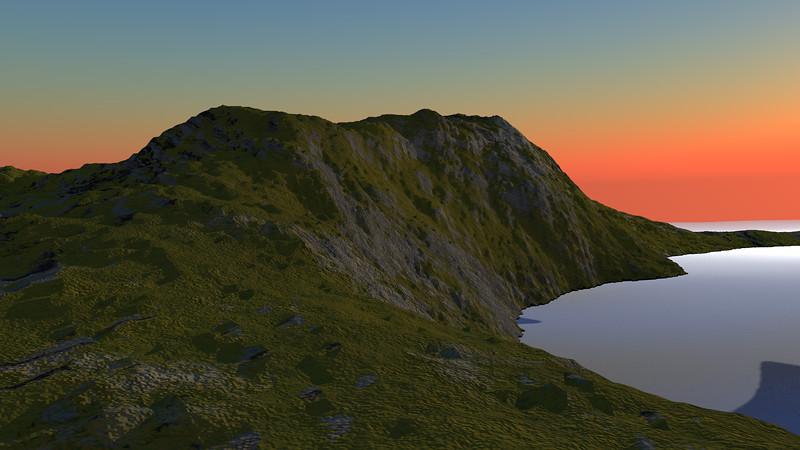 Sunset Archipelago CGI Render 16