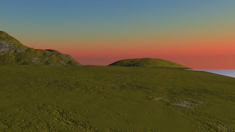 Sunset Archipelago CGI Render 1