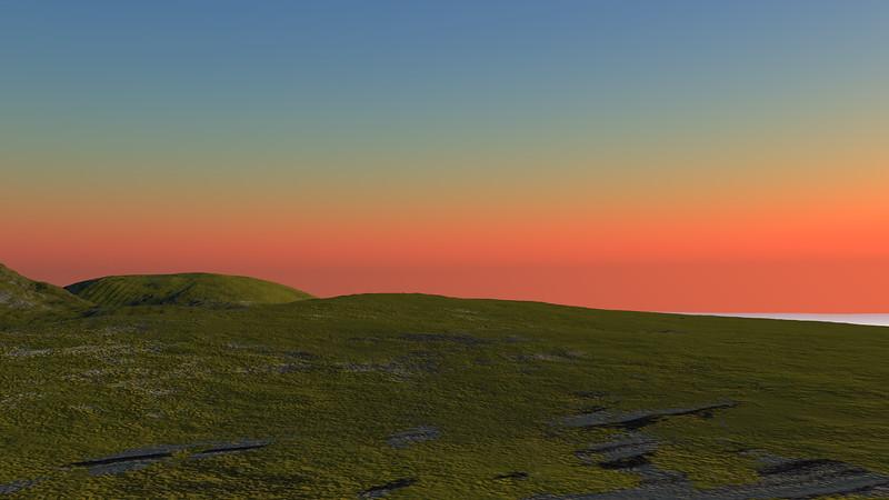 Sunset Archipelago CGI Render 8