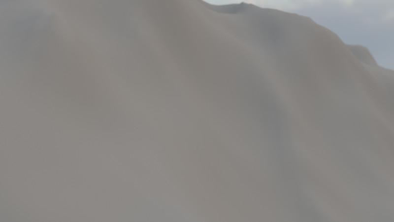 Winter Mountain CGI Render 16