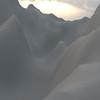 Winter Mountain CGI Render 9