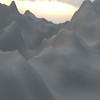 Winter Mountain CGI Render 8