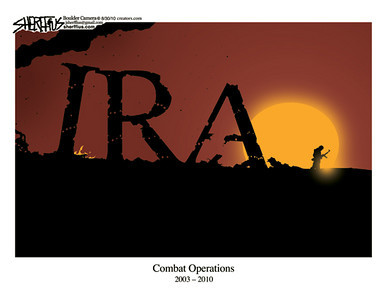 Sept. 1, 2010<br /> John Sherffius Editorial Cartoon<br /> Dailycamera.com Boulder, CO