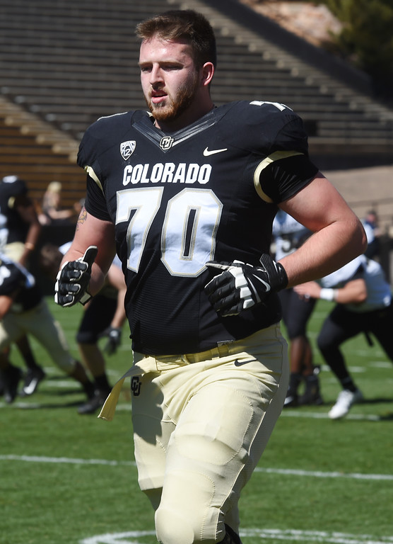 . during the CU Spring football festivities on Saturday.  Cliff Grassmick  Photographer  March 17, 2018