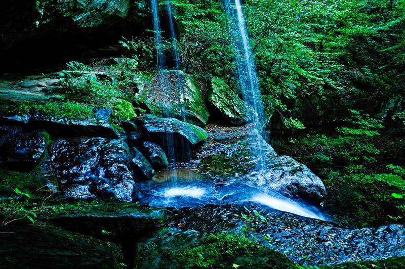 mid falls, Cane Creek Canyon Nature Preserve, Tuscumbia, AL