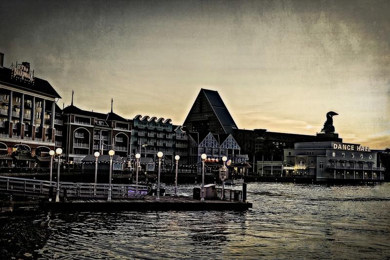 The Boardwalk at dusk
