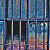 bars, windows, and broken glass
