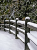 December 5th<br /> <br /> SPLIT RAIL FENCE IN THE SNOW