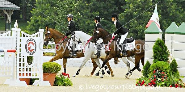 Theme:  Silver<br /> 2013 NAJYRC 1-star Silver Medal Eventing Team