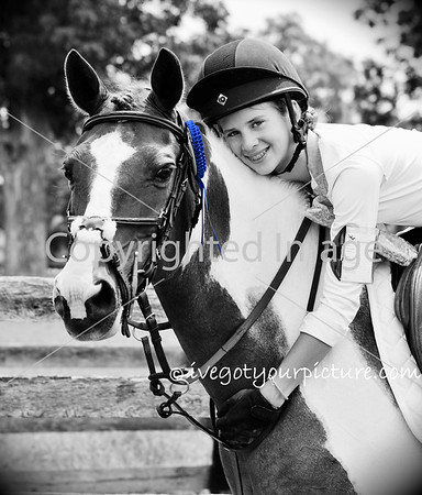Theme:  Black & White (with a touch of blue)<br /> Antebellum Farm CT, August 2015<br /> Lexington, Kentucky