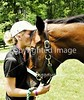 Theme: Joyful<br /> A joyful reunion of horse and (previous) owner.