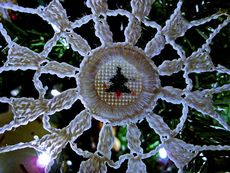 12/20   Handmade Christmas Ornament - Crochet