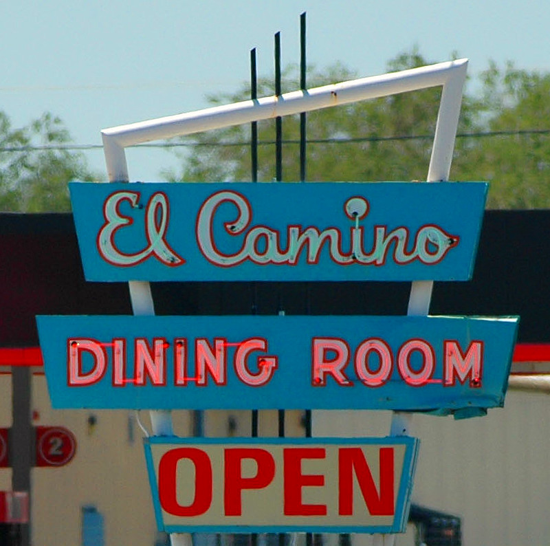 10-26-10<br /> <br /> The El Camino<br /> <br /> One of my regular eating places for hide-a-way mexican food.