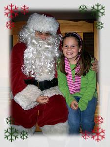 December 21, 2009 - Visit with Santa