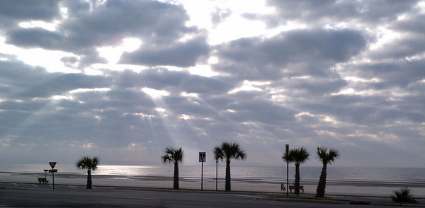 January 20, 2011 - Gulfport, MS - veiw from my hotel on a business trip